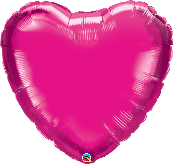 Jumbo Personalised Heart - Magenta